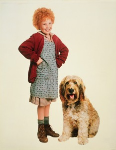 "Fav childhood movie. This is why my close family members call me ""Annie"""